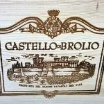 Barone Ricasoli Castello di Brolio wooden case label