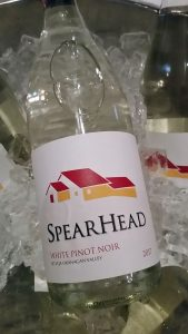 Spearhead Winery White Pinot Noir 2017