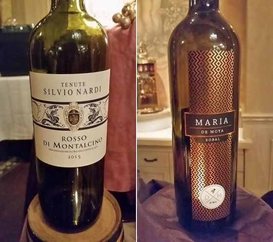 Tenute Silvio Nardi Rosso di Montalcino and Bodega De Moya Maria Bobal