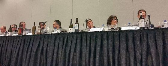 Winery principal panel at the Dynamic Spain seminar at VanWineFest