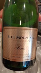 Blue Mountain Vineyard and Cellars Gold Label Brut NV