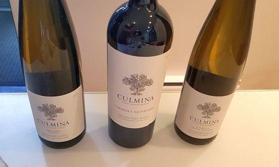 Culmina Unicus, Decora, and Cabernet Sauvignon wines