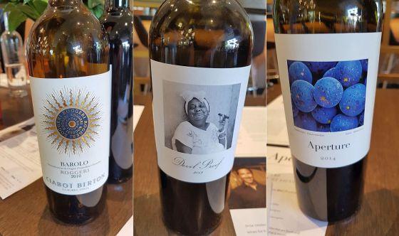 Ciabot BertonRoggeri Barolo DOCG, Aperture Cellars Devil Proof Malbec and Cabernet Sauvignon wines