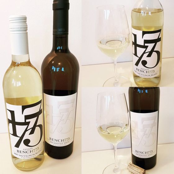 Bench 1775 Sauvignon Blanc 2017 and Meritage White 2016