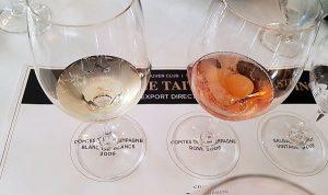 Champagne Taittinger Comtes de Champagne Blanc de Blancs 2006 and Rosé 2006