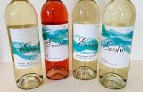 Evolve Cellars 2017 white and rose still wine lineup