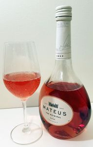 Have a glass of Mateus The Original Rose wine