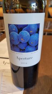 Aperture Cellars Cabernet Sauvignon 2014