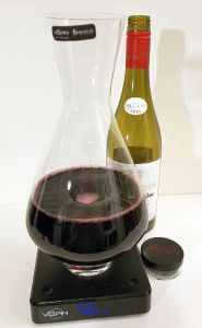 Ogier Heritages Cotes du Rhone Grenache - Syrah 2016 in the vSpin decanter