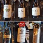 Assorted California red wines at VanWineFest 2019
