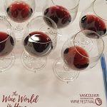 Pinot Noir wines at VanWineFest 2019 seminar