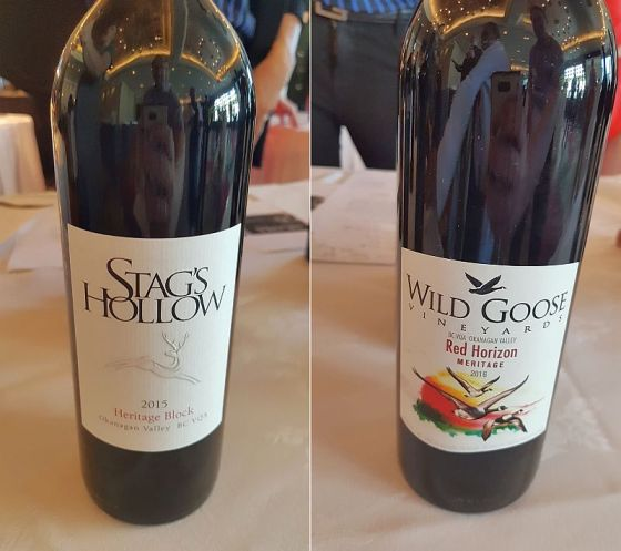 Stag's Hollow Heritage Block and Wild Goose Vineyards Red Horizon