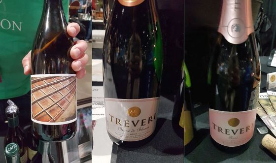 Time & Direction Fretboard Viognier, Trevari Cellars Blanc de Blancs Brut Sparkling Chardonnay and Sparkling Rose at Taste WA