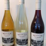 Monte Creek Ranch Pinot Noir and Chardonnay 2017 and Reserve Riesling 2018