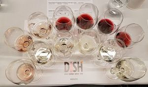 USA seminar wines at DISH