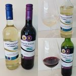 Two Oceans Sauvignon Blanc and Shiraz collage