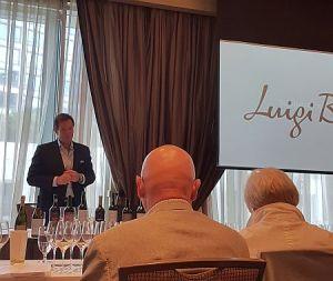Alberto Arizu speaking about Luigi Bosca wines