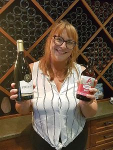 Kristin, Tasting Room Manager at Privato Vineyard and Winery