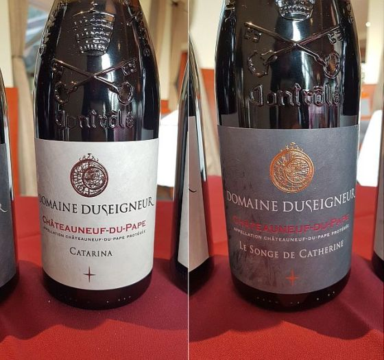 Domaine Duseigneur Catarina 2017 and Le Songe de Catherine 2016 wines