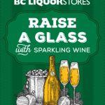 BC Liquor Stores sparkling wine
