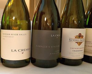 La Crema and Kendall-Jackson California wines