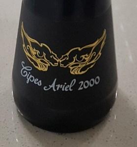 Cipes Ariel 2000 sparkling wine label