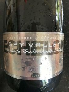 Spy Valley Echelon Marlborough Methodé Traditionnelle 2012