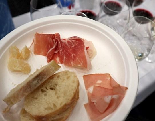 A sample of Italian foods for our Emilia Romagna masterclass