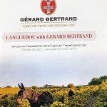 Languedoc Masterclass with Gérard Bertrand booklet