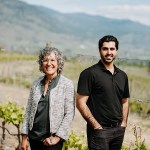GoldHill Winery, Val Tait and Navi Gurbachan (Image courtesy Gold Hill Winery)