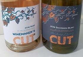 Winemaker's CUT Estate Rosé and Sauvignon Blanc wines