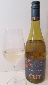 Winemaker's CUT Estate Sauvignon Blanc 2019 with wine in glass