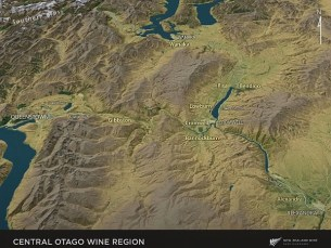 Central Otago Wine Region in New Zealand
