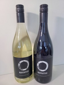 Narrative Viognier 2018 and Syrah Viognier 2018