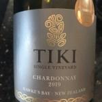 Tiki Single Vineyard Hawke's Bay Chardonnay 2019