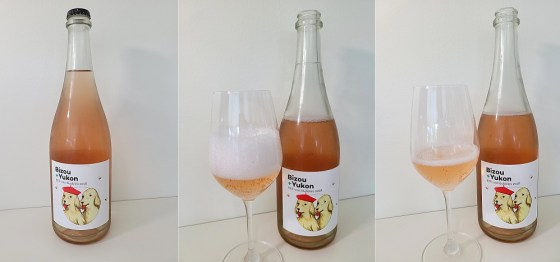 Bizou+ Yukon BEE-zoo Bubbles 2018 with bubbles in the glass