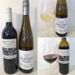 Harper's Trail Estate Winery Field Blend White 2019 and Monte Creek Ranch Cabernet Merlot 2017