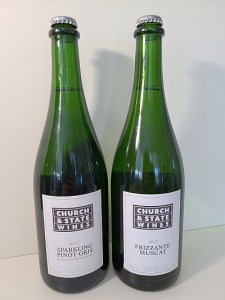 Church & State Wines Sparkling Pinot Gris and Frizzante Muscat 2017