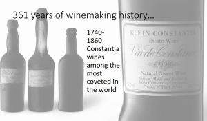 Klein Constantia Estate Wine