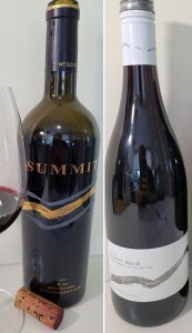 Mt. Boucherie Estate Winery SUMMIT 2017 and Pinot Noir 2018