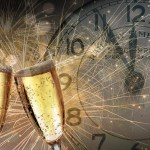 New Years Eve and sparkling wine