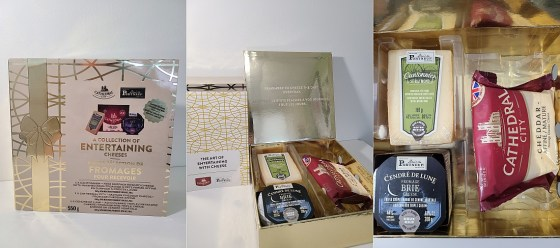 Saputo LImited Edition Collection box of Entertaining Cheeses