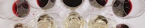 Wine glasses wedge