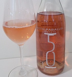50th Parallel Estate Winery Pinot Noir Rosé 2019