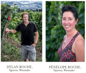Dylan and Penelope Roche (Photos courtesy Roche Wines)