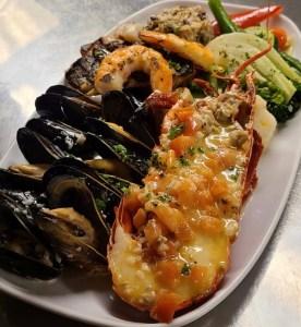 Provence Marinaside Seafood Platter (Photo Credit Emrys Horton)