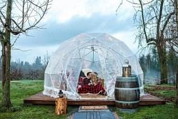 Singletree Winery's Di Vine Dome small (Photo credit Megan Ashley Creative)
