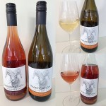 Ramification Cellars Consequence Rose 2018 and Quandry Pinot Gris 2018