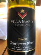 Villa Maria Reserve Marlborough Sauvignon Blanc 2020