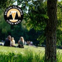BC Cider Week logo (Image courtesy British Columbia Cider Week)